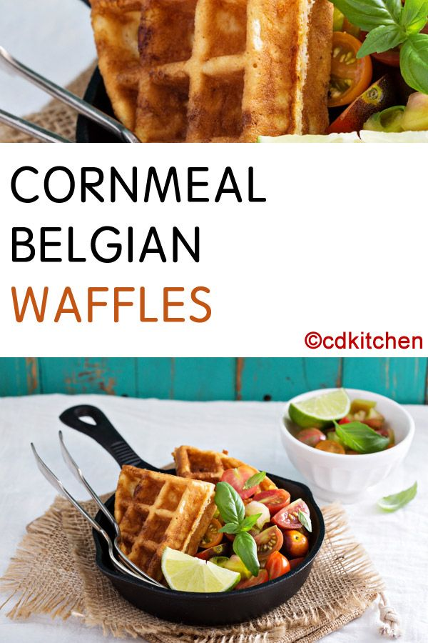 recipe: cornmeal waffles egg whites [30]