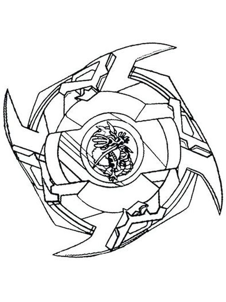 Beyblade Burst Coloring Pages 003 Coloring Pages Cartoon