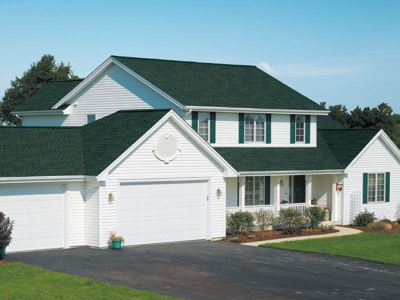 Hunter Green Gaf Timberline Roof Shingles Home Roof Shingles Green Roof Shingling
