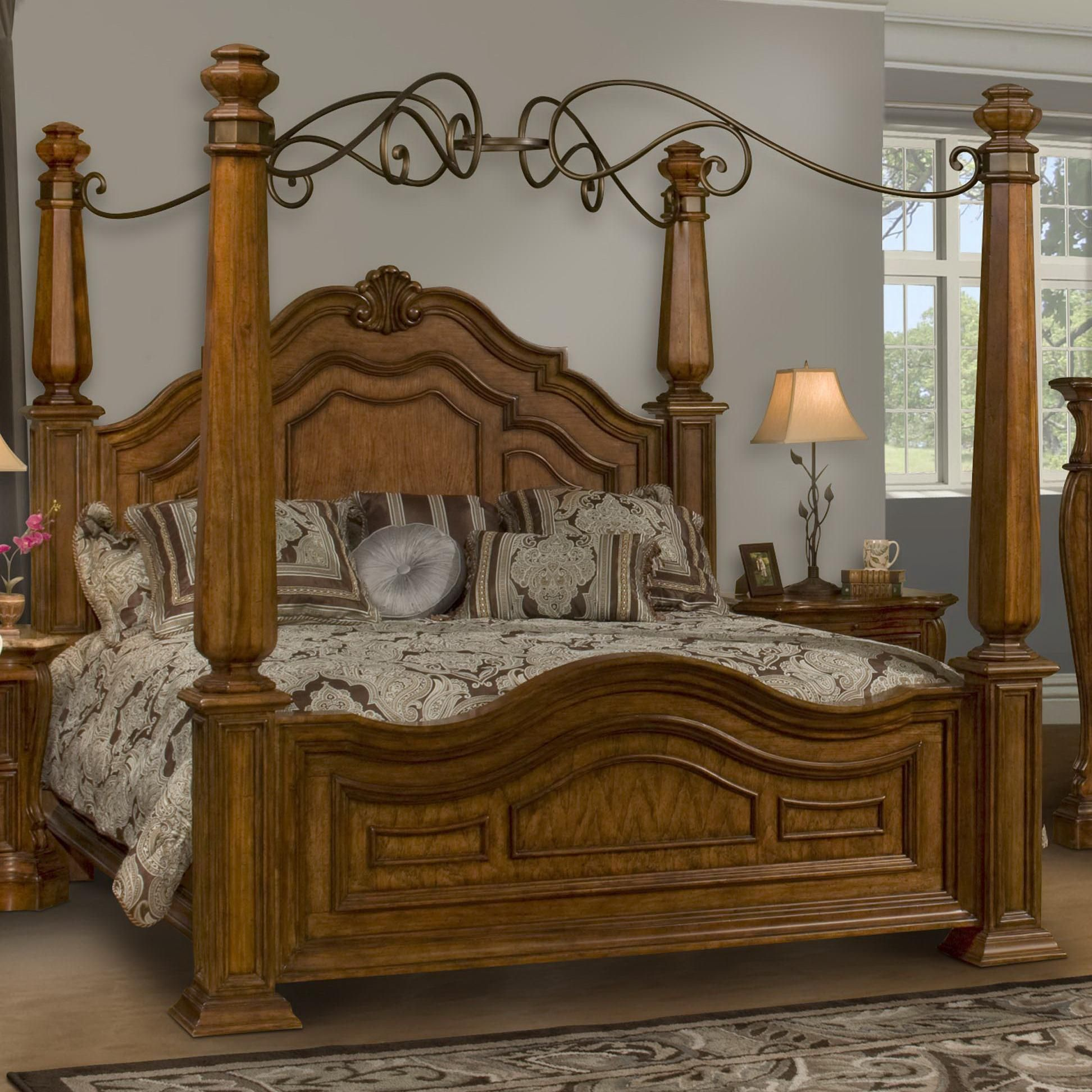 florence king poster canopy bed by endura furniture my