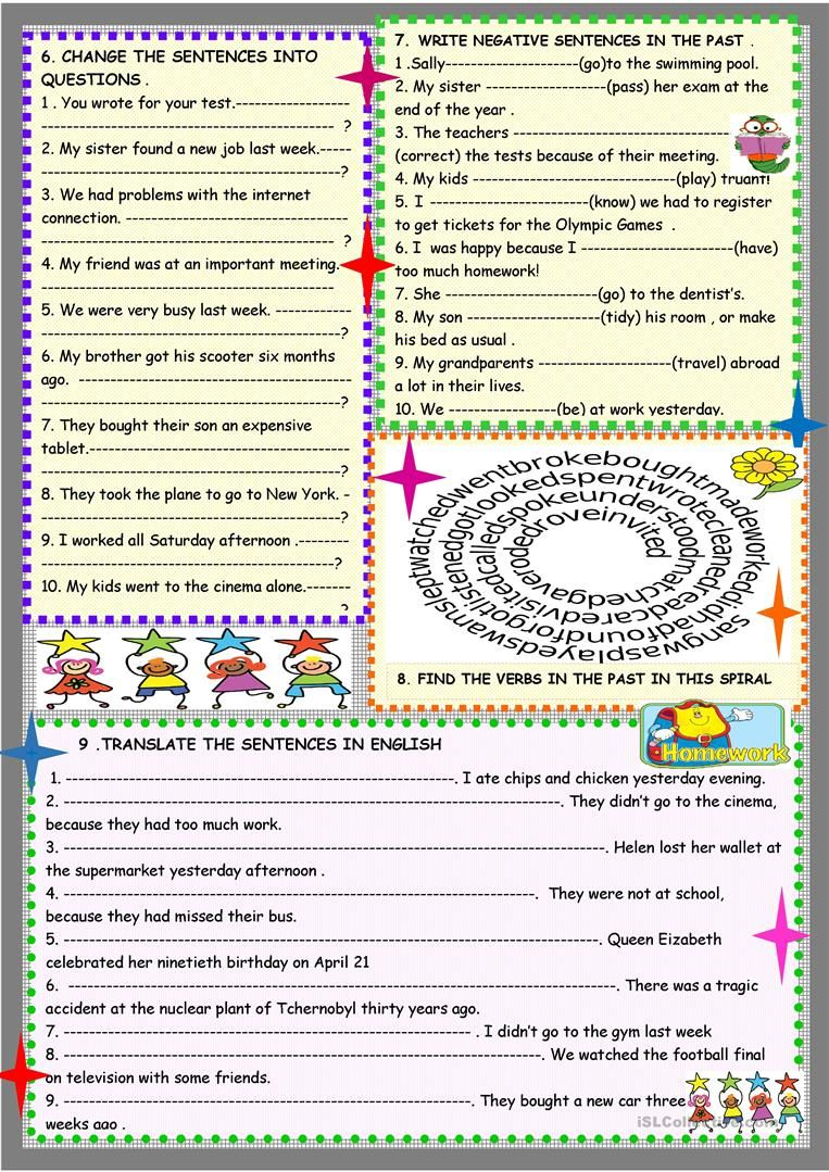 Past Simple 2 Page Practice Regular And Irregular Worksheet Free Esl Printable Worksheets Made Simple Past Tense English Teaching Materials English Lessons [ 1079 x 763 Pixel ]