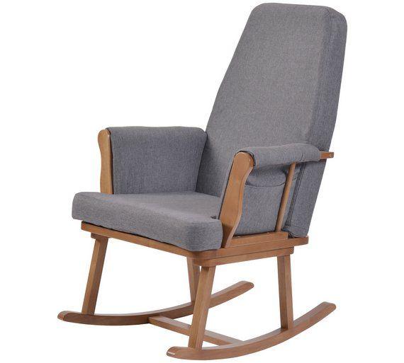 Groovy Buy Kub Haldon Rocking Chair Dark Wood At Argos Co Uk Visit Short Links Chair Design For Home Short Linksinfo
