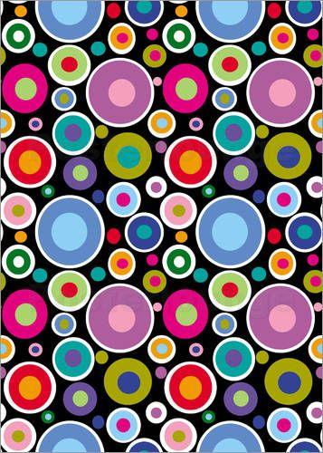 barbara-gudehus-CAPI ::: Circles , Artist Study Circles Resources for Art Students,at CAPI Create Art Portfolio Ideas at www.milliande.com , Art School Portfolio Work, circles, circle, round, pattern