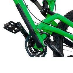 Lizard Skins Leather Downtube Protector Lizard Skins Mountain Biking Gear Folding Mountain Bike Mountain Bike Store