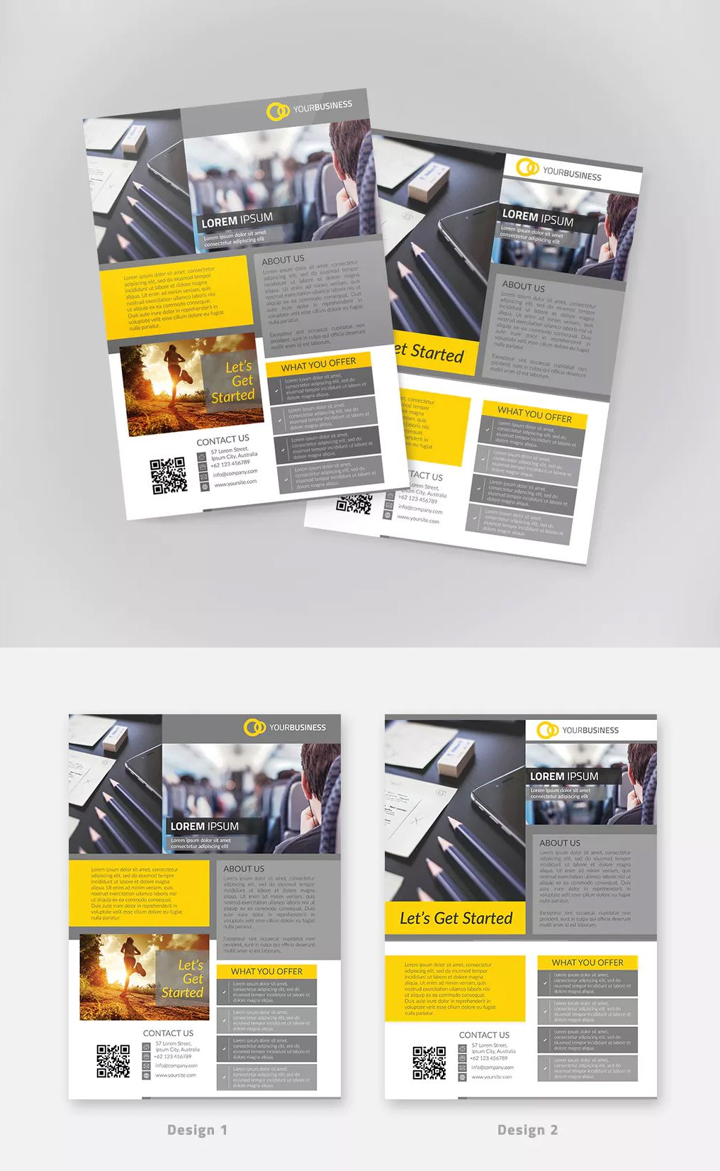 2 Multipurpose Business Flyer By Weapedesign On Envato Elements Business Flyer Flyer Design Templates Flyer Template