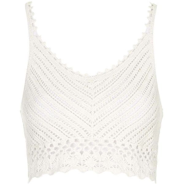 8c869b4eab705   Dream Catcher Crochet Top by Goldie ( 28) ❤ liked on Polyvore featuring  tops