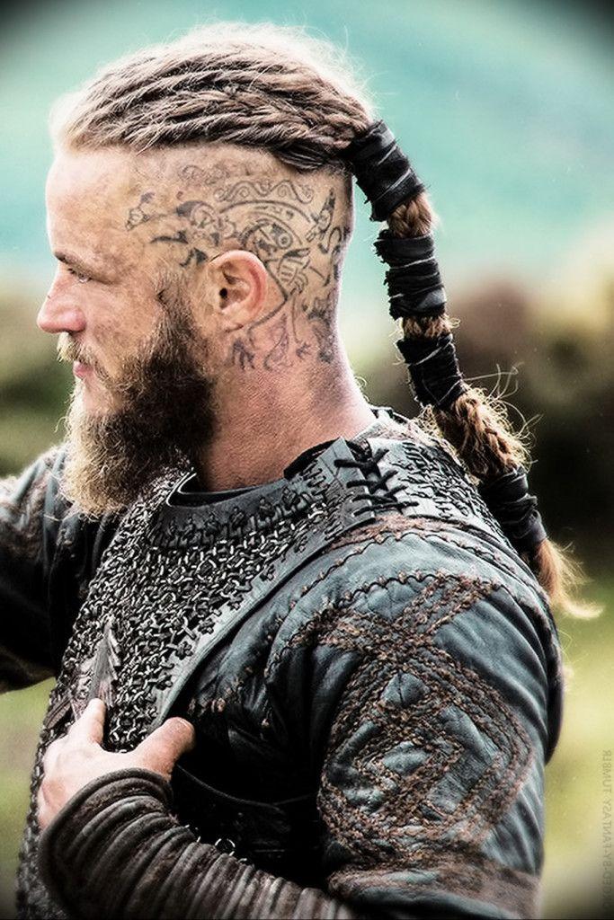Mens Long Hair Shaved Undercut | Head tattoos, Long hair ...