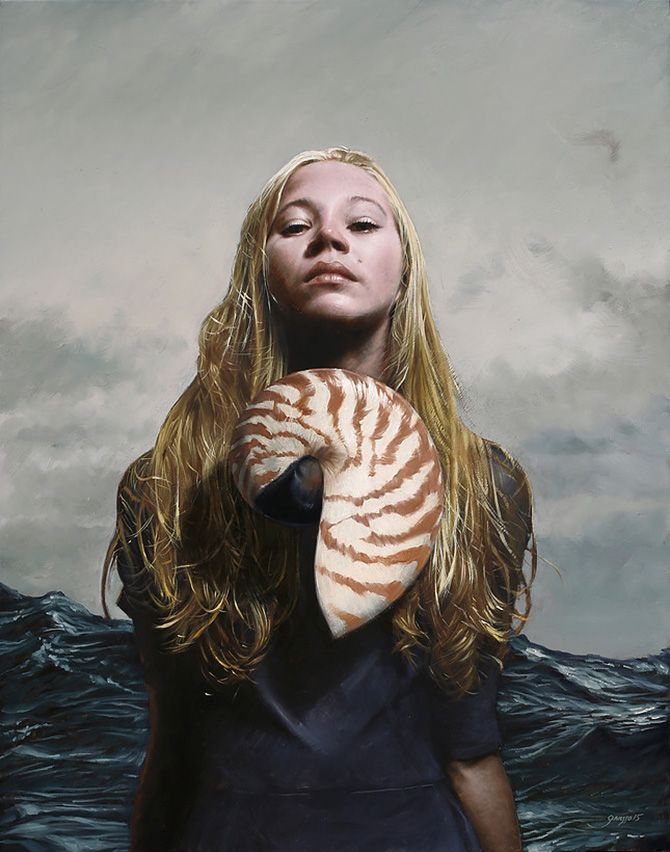 Realistic Nature Inspired Portraits By Victor Grasso Bleaq