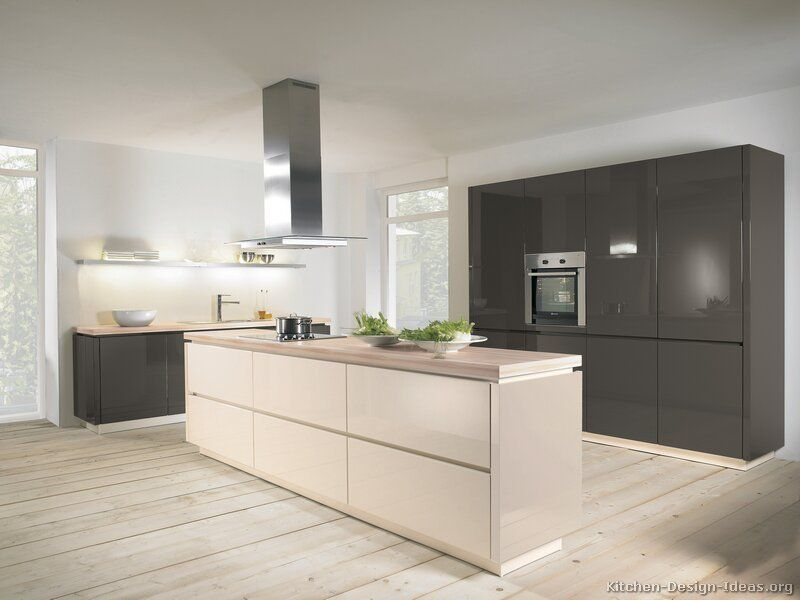 Kitchen of the Day Modern Two-Tone Kitchens (by ALNO, AG - alno küche gebraucht