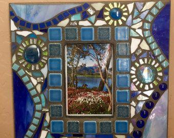 Mosaic Wall Hanging by RazzleDazzleMosaics on Etsy