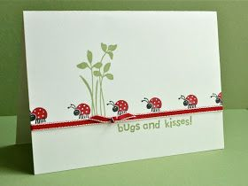 Shelley's Stamping Ground: Ladybug Love
