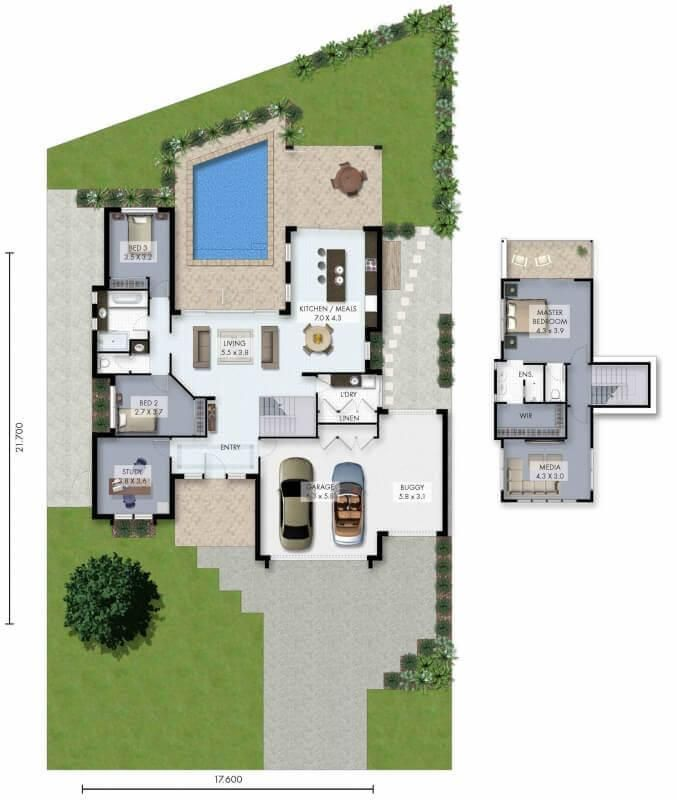 Grab the plans now for the Ascot Spacious luxury living in almost
