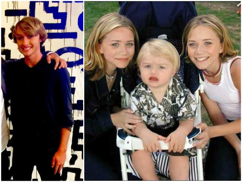Ashley and Mary-Kate Olsen's half-brother Jake Olsen ...