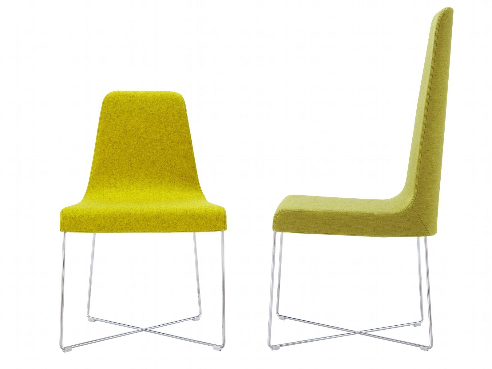 Sedie Schienale Alto Design : Sedia imbottita con schienale alto so by roset italia design soda