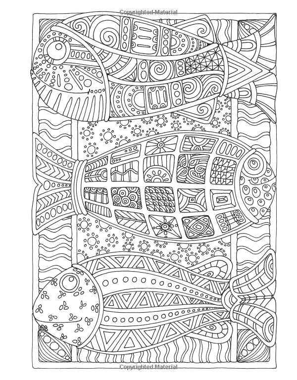 Amazon Angela Porters Zen Doodle Animal Tangles New York Times Bestselling Artists Adult ColoringColoring BooksColoring