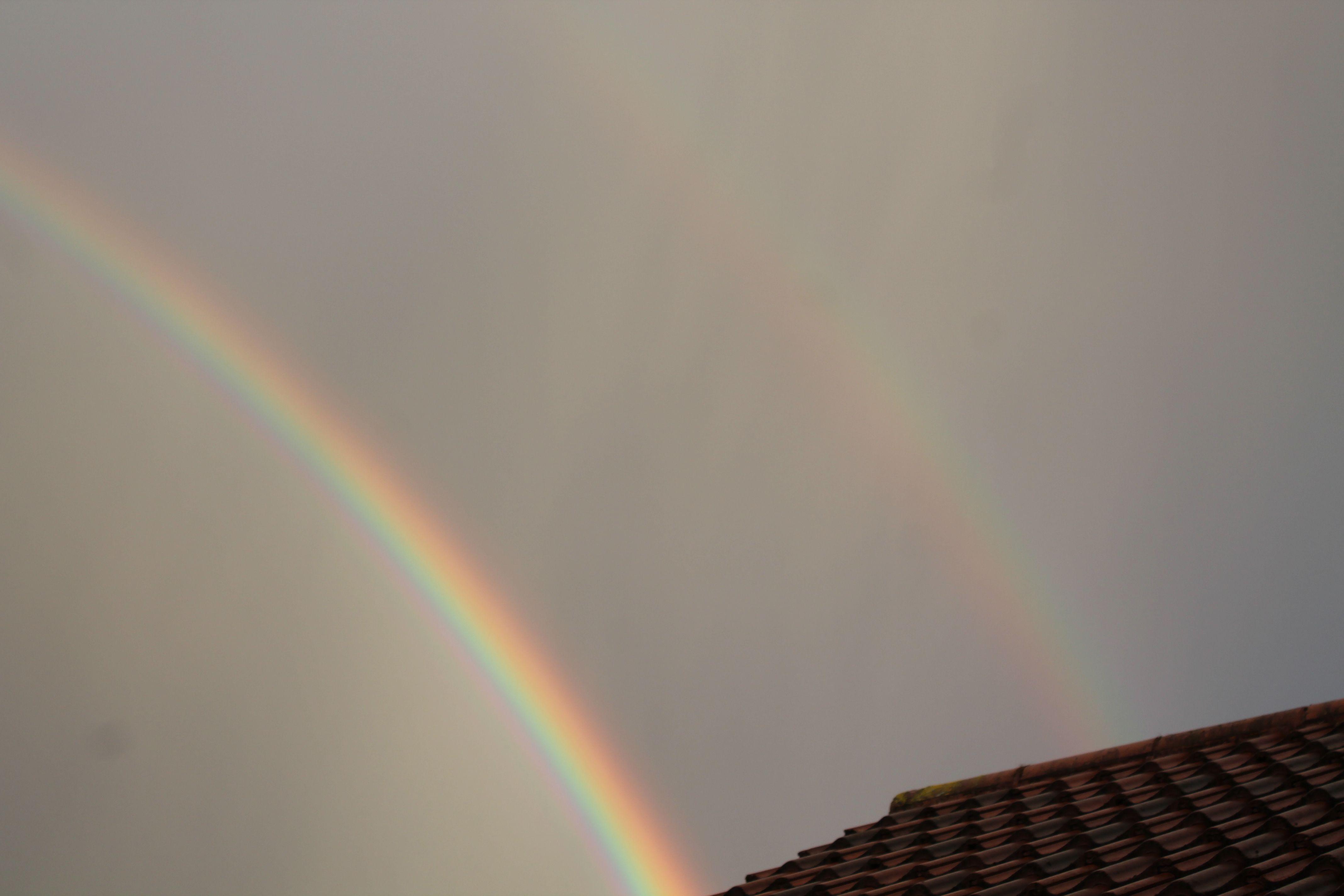 Double rainbow 25th April 2013