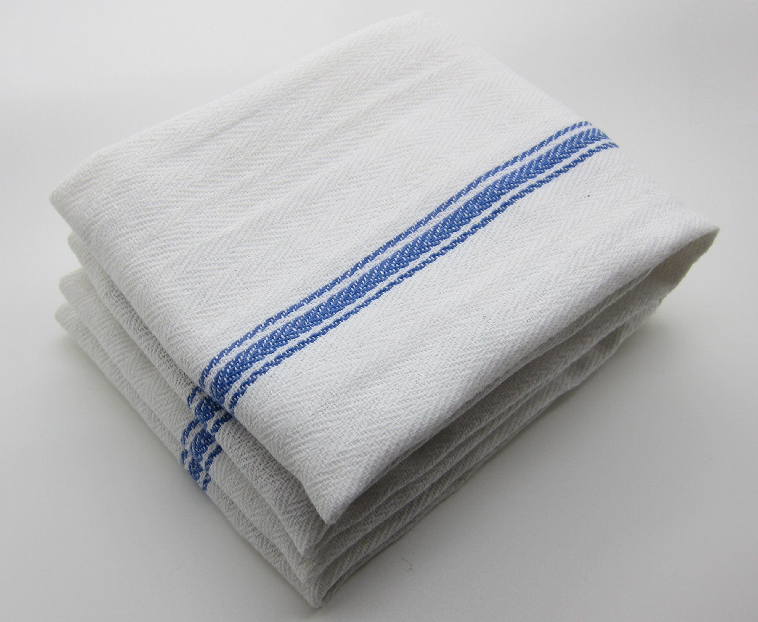 Liliane Collection Kitchen Dish Towels 13 Units Commercial Grade Absorbent 100 Cotton Size 25 X 14 Clic Tea
