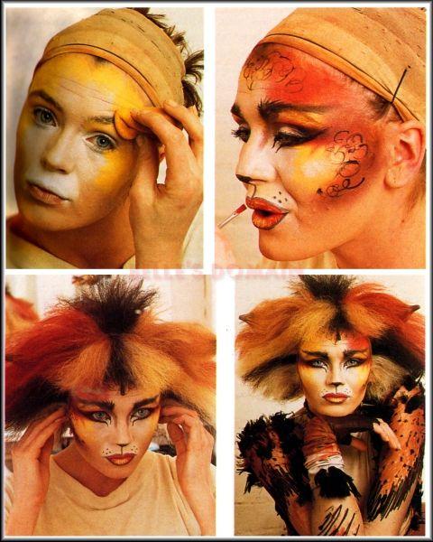 Bombi Makeup Cat Makeup Jellicle Cats Cat Halloween Makeup
