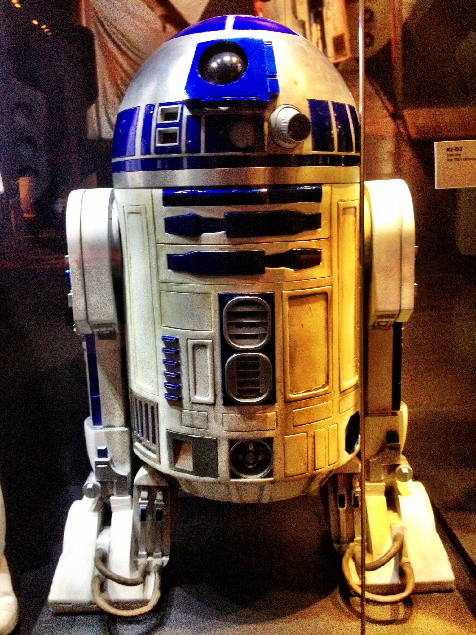 c4ed4ce46b422 Original R2d2 costume from episode 4 A New Hope