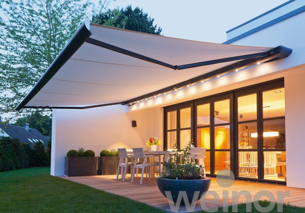 The Monaco/LED designer awning is our most contemporary and discreet. It blends perfectly with the lines of a modern house and is an elegant contrast to ... & Pin by Katarzyna Giba?a on tarasy ibalkony | Pinterest | Pergolas