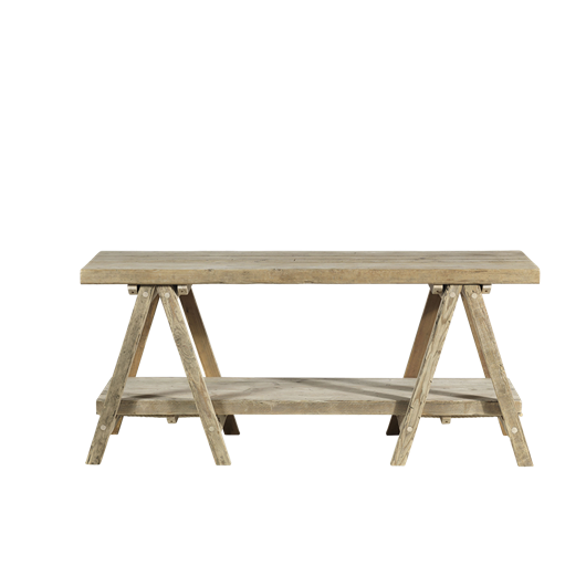 Lomwe Trestle Table Natural