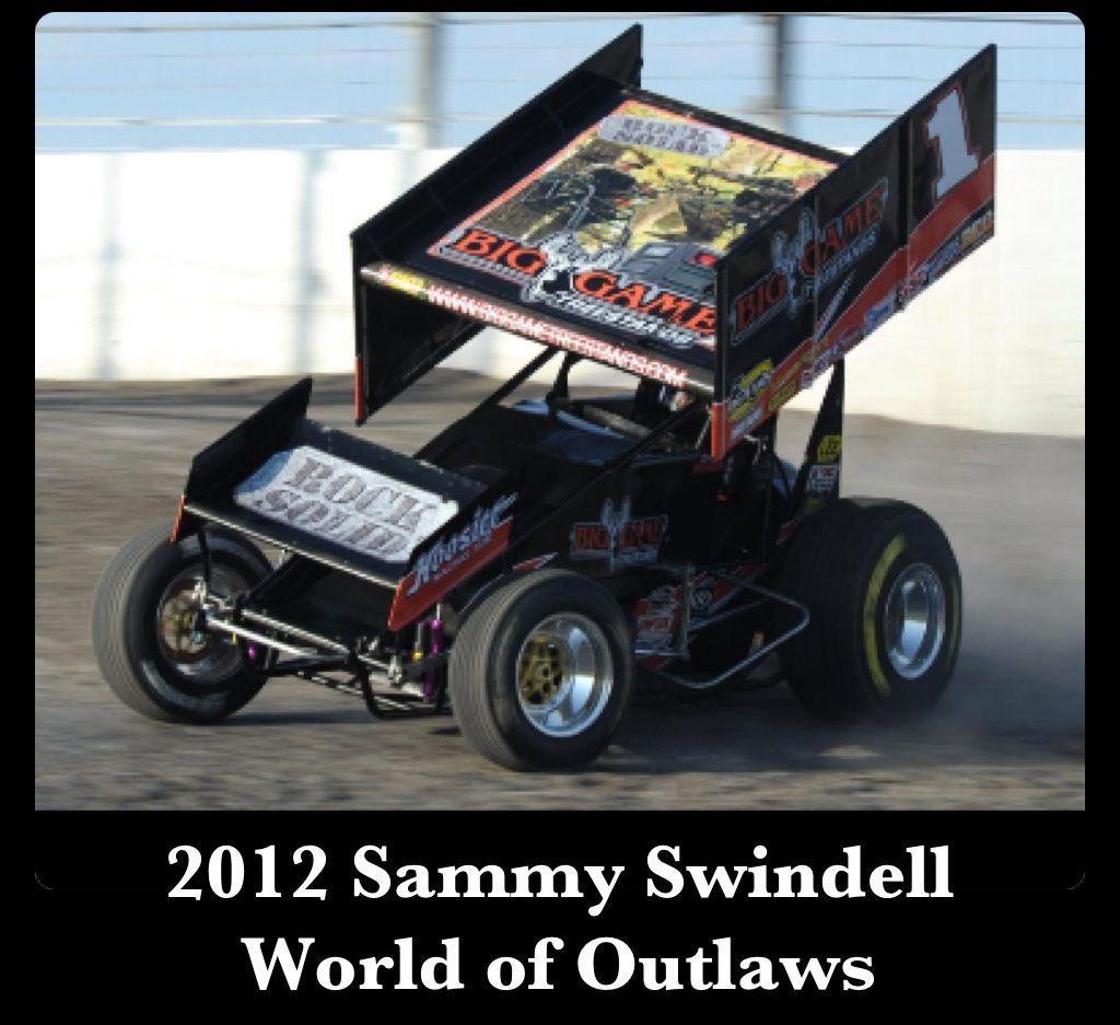 2012 Sammy Swindell  World of Outlaws - Gary Edwards photo