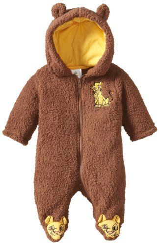 Disney Baby Baby-Boys Newborn 2 Piece Plush Sets-3, Brown, 0-3 Months…