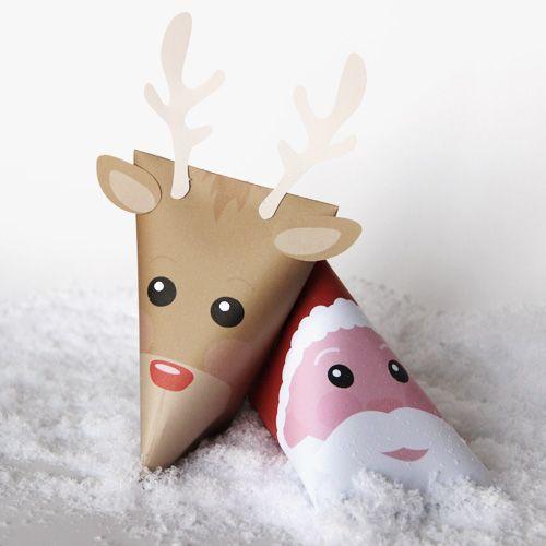 des id es pour personnaliser les cadeaux et les photos de no l berlingot cadeau et diy. Black Bedroom Furniture Sets. Home Design Ideas