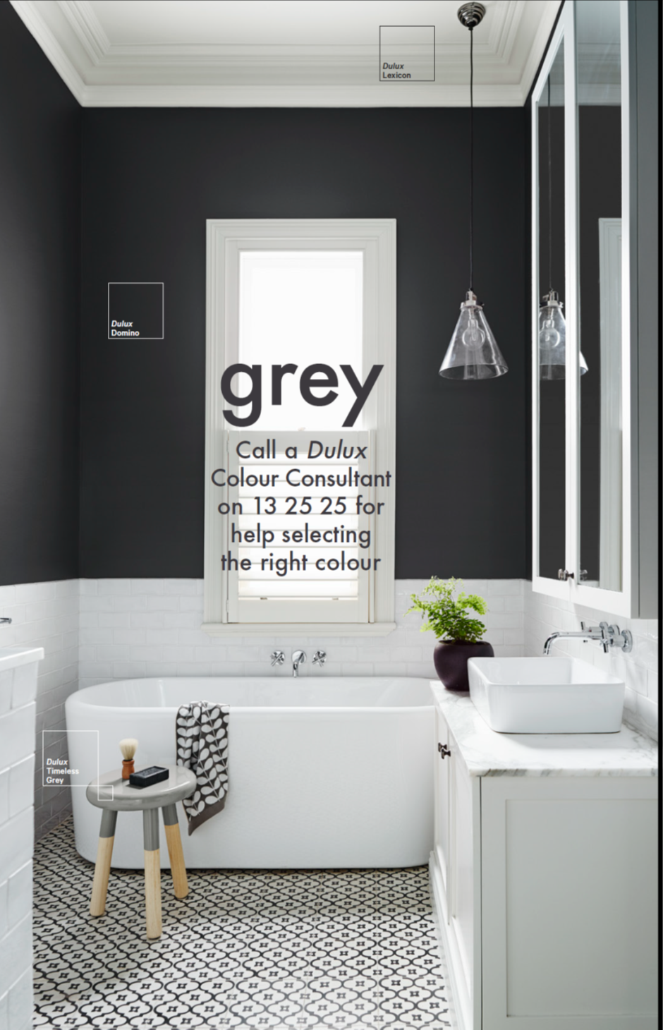 Dulux - Bathroom inspiration   Gewone badkamer   Pinterest ...