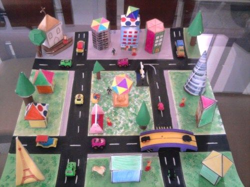 Desarrollos De Cuerpos Geom Tricos Plantillas Ideas Y