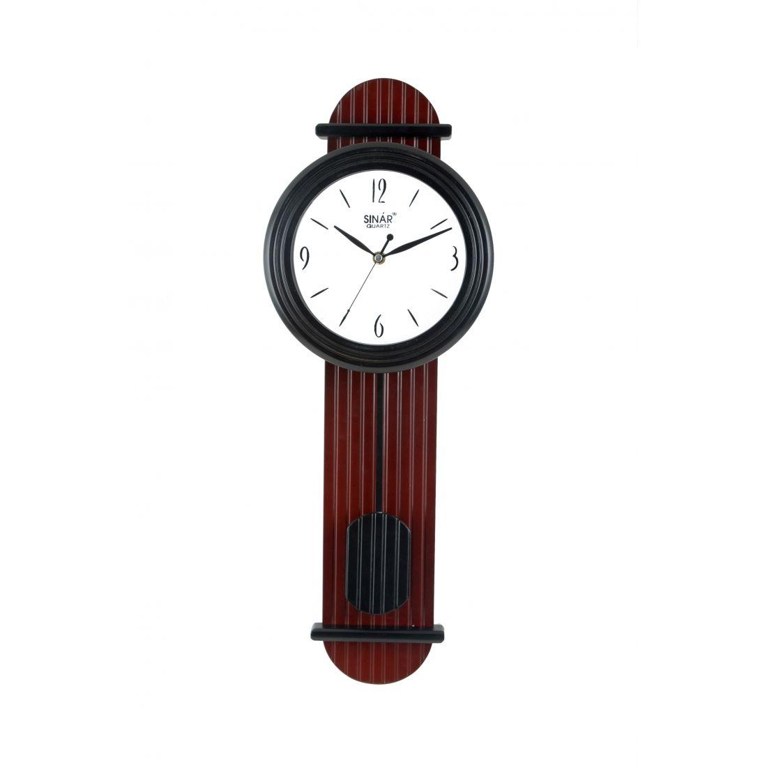 Wall Clocks With Pendulum Buy Skate Shaped Wooden Pendulum Wall