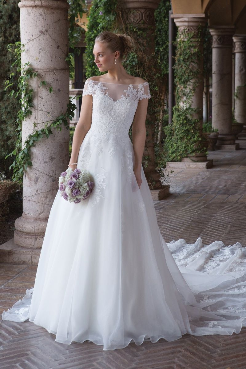 Sincerity Bridal Style 4012 Off the Shoulder Ball Gown