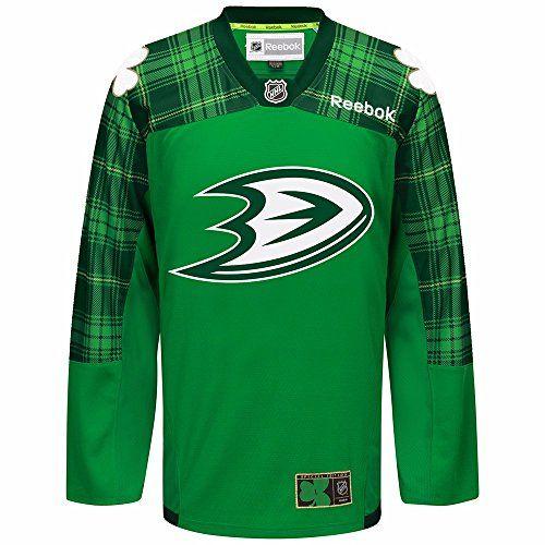 aa698c7de Ducks St. Patrick Jersey | Cool Anaheim Ducks Fan Gear | Chicago ...