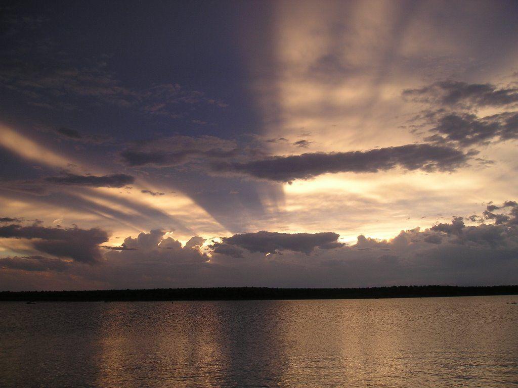 Conchas Lake Sunset