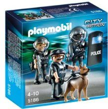Playmobil MD-10 Police Woman Figure City Action Hat Gun  9829