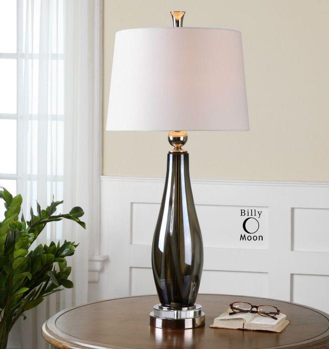 Uttermost Belinus Table Lamp Lamp Glass Table Lamp