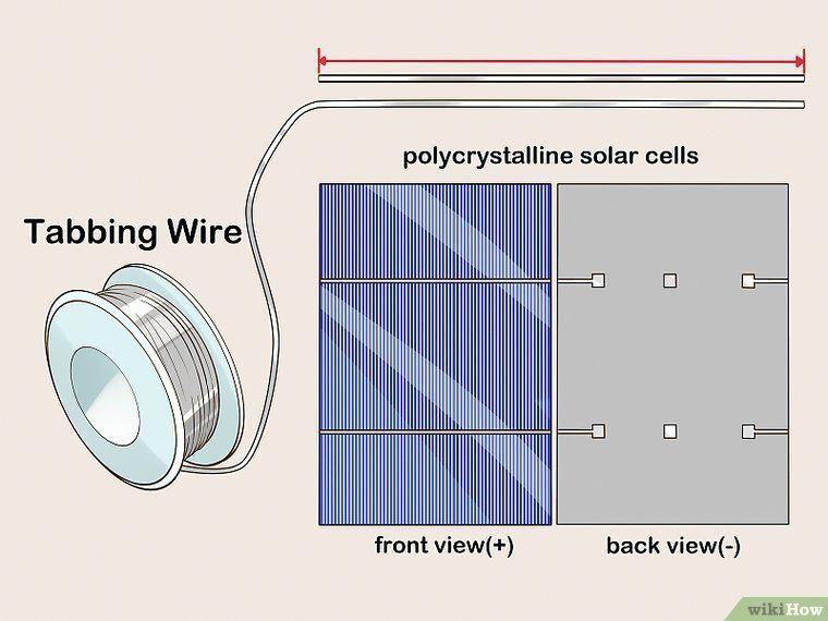 Image Titled Build A Solar Panel Step 3 Makesolarenergydiyprojects Solar Energy Projects Solar Panels Solar Power Diy