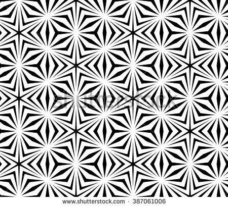 Vector Modern Seamless Sacred Geometry Pattern Trippy Black And Awesome Sacred Geometry Patterns