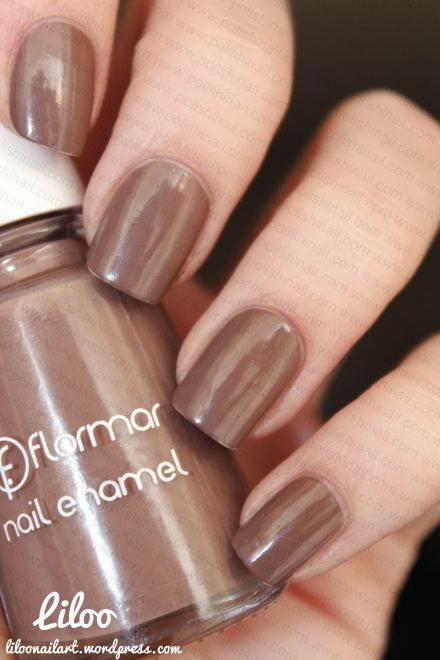 Nail art tout en finesse sur le Flormar 413 (Polishinail shop) !