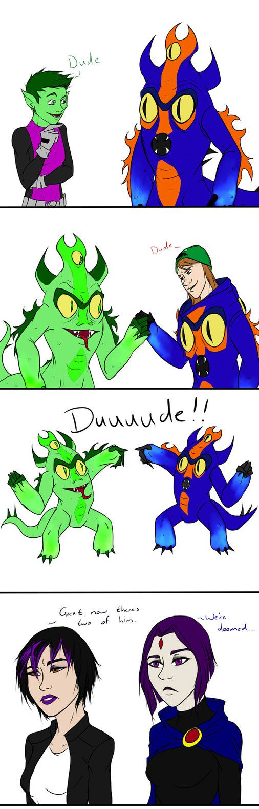 Duuuude By Megs-Ils On Deviantart While Watching Big -3205