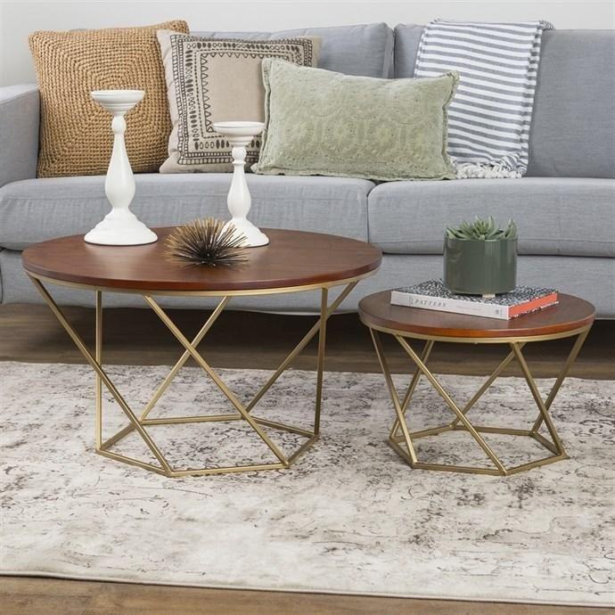 Jane.com   Walker Edison Furniture Company LLC Geometric Nesting Tables /  Free Shipping   AdoreWe.com