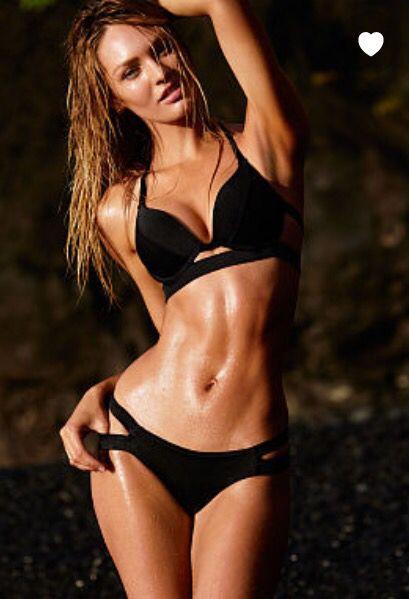 Black halter incision top- Victoria's Secret