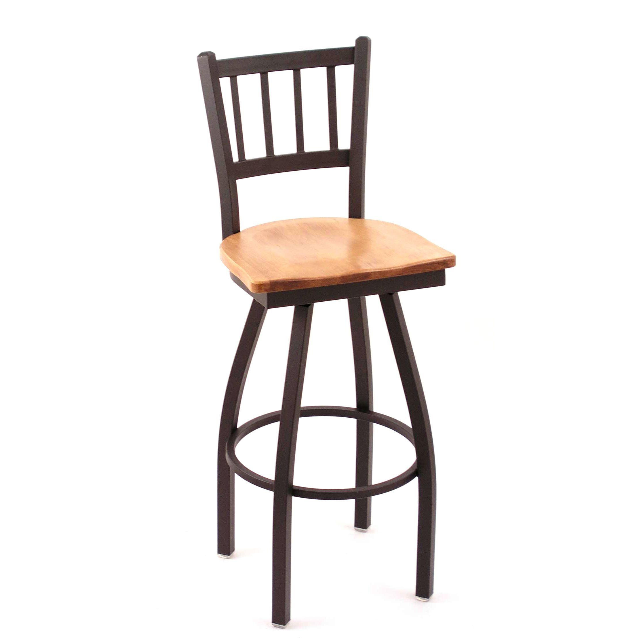 Cambridge Medium Maple Extra Tall Swivel Barstool Extra Tall Bar Stool Black With Images Bar Stools Swivel Stool
