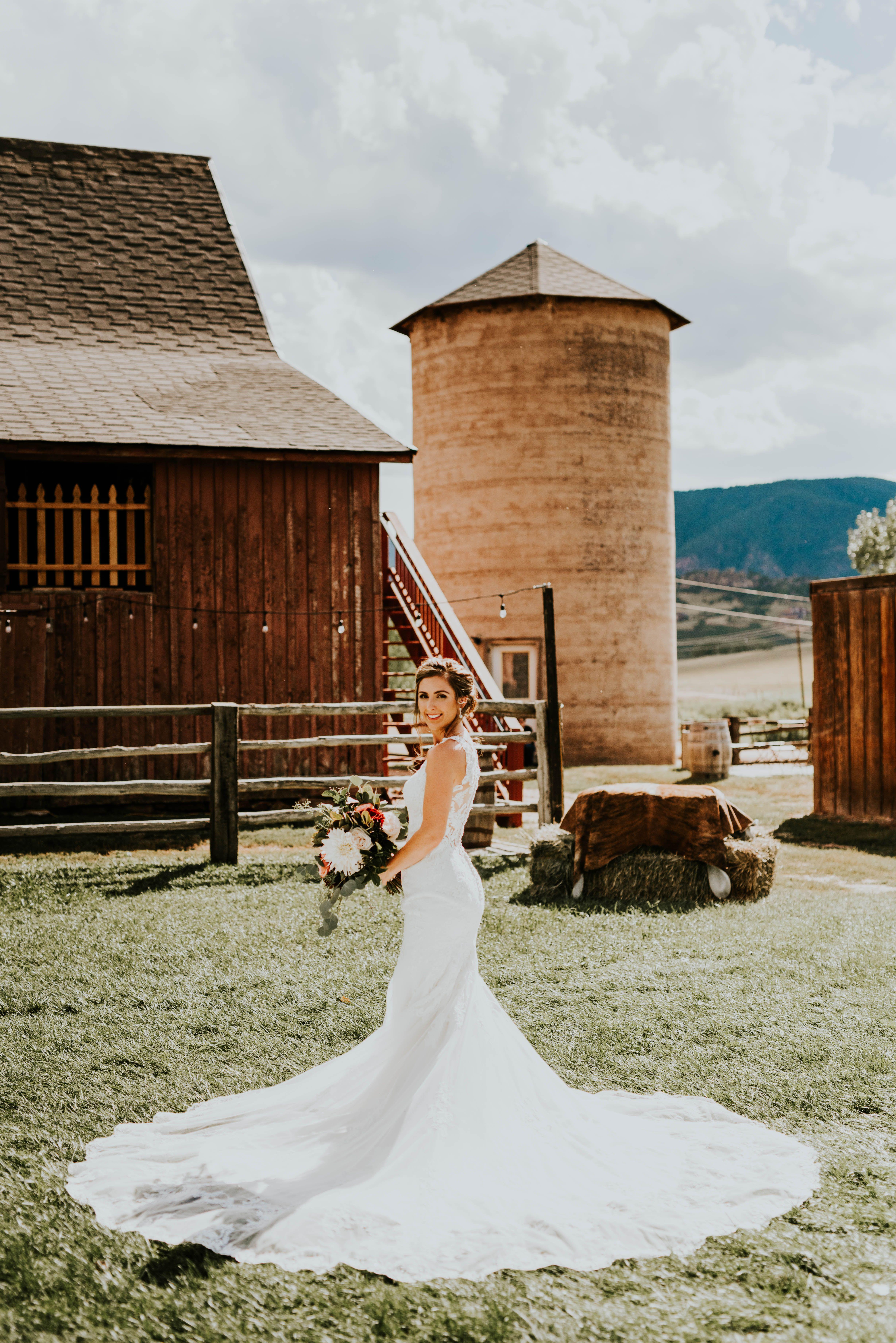 Kathryn Wiens Ranch Company Bridal Bridal Collection Mermaid Wedding Dress
