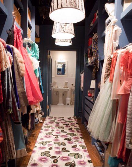 Carrie's closet!!