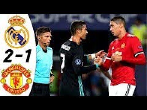 Real Madrid Vs Manchester United 2 1 All Goals Highlights Resumen Manchester United Real Madrid The Unit
