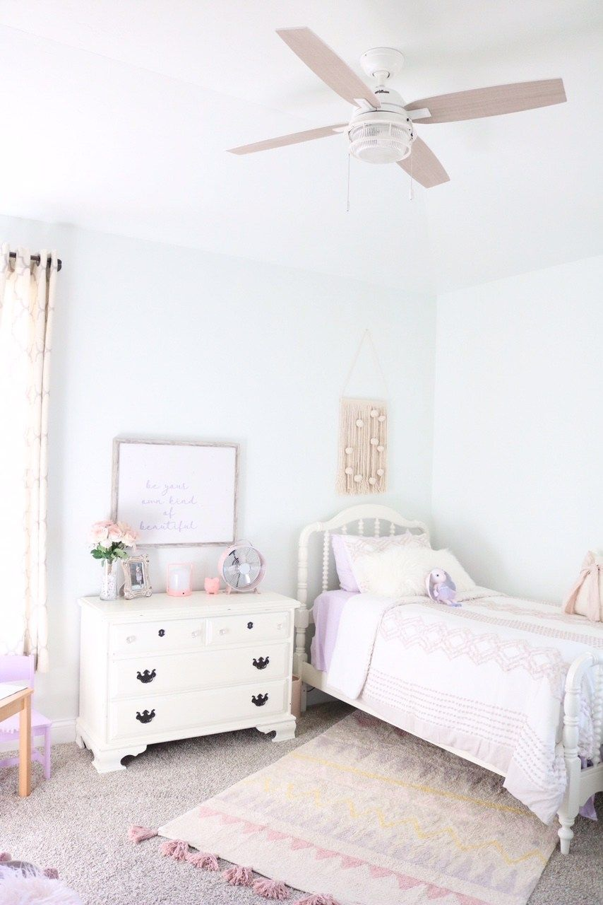 Big Girl Bedroom Reveal   Lavender, Blush, Ivory