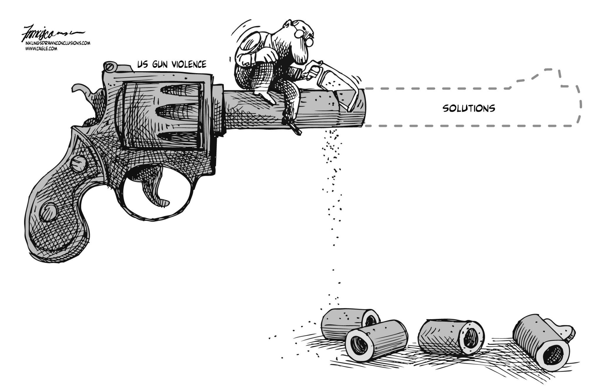 This Cartoon Shows That Solutions To The Problem Of Arming