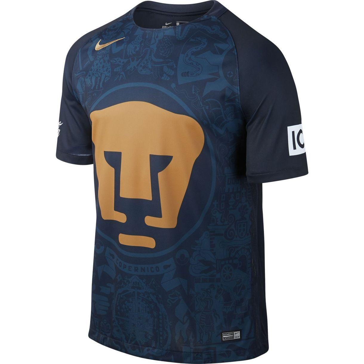806ef6358 Pumas UNAM Away Shirt 2016/17 | Football Kit | Pumas, Nike, Football ...