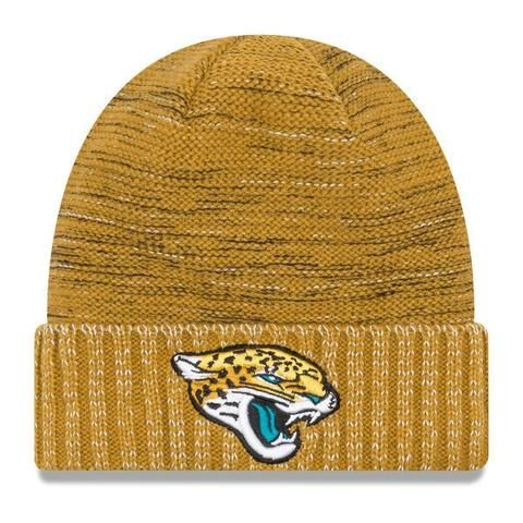 7c0a1b46f NFL Jacksonville Jaguars New Era 2017 Color Rush Knit Hat ...